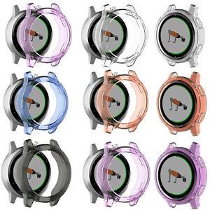 Transparent-TPU-Protective-Watch-Case-for-Garmin-Vivoactive-4S-Garmin-ActiveS