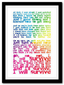 I will survive song lyrics