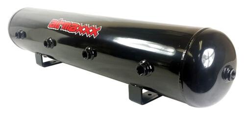 AirMaxxx 480 Dual Black Compressors 5 Gallon Tank Air Bag Suspension 200psi Kit