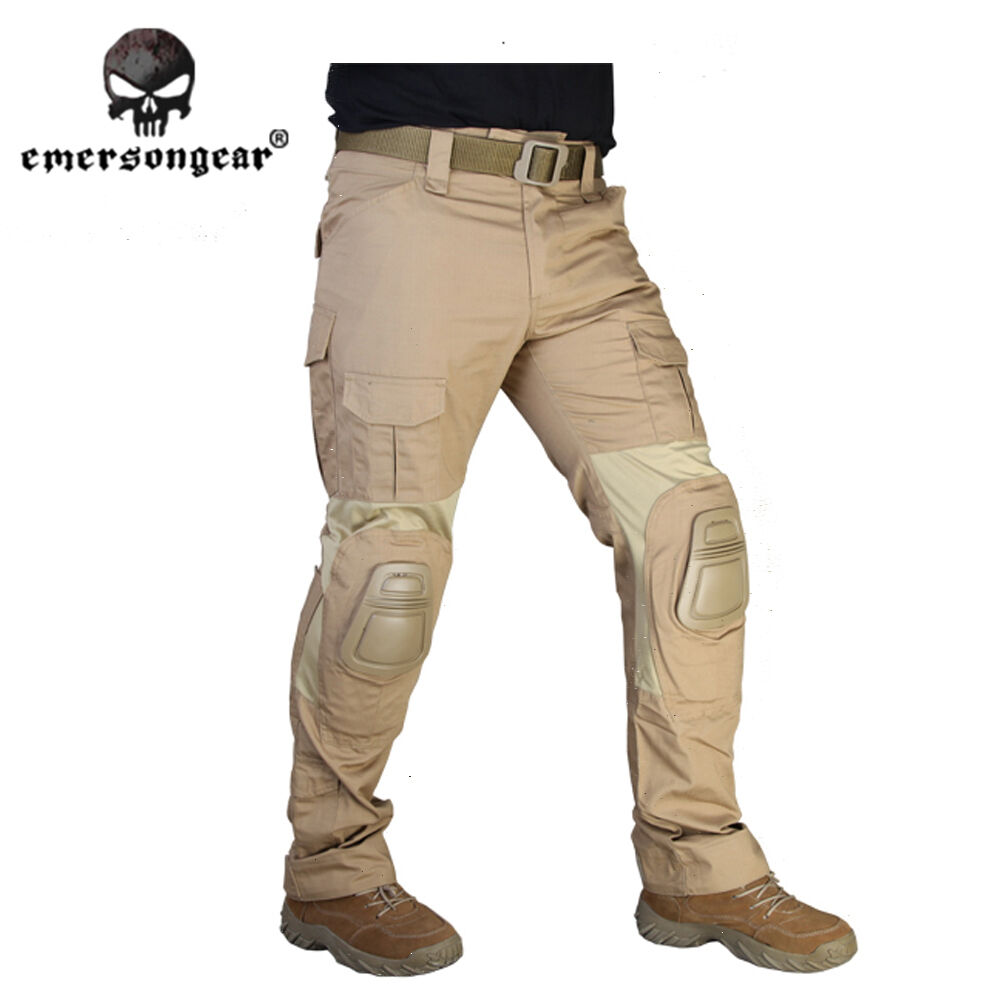 G2 Tactical Pants with knee pads  Emerson Gen2 Combat Trousers Airsoft CB 7038C  general high quality