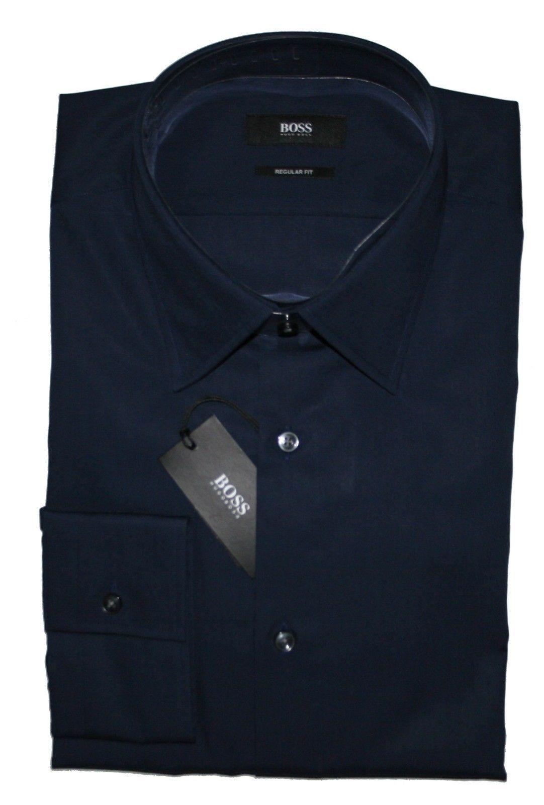 Hugo Boss 50199920 Regular Fit Times Hemd KW.39 / 15,5