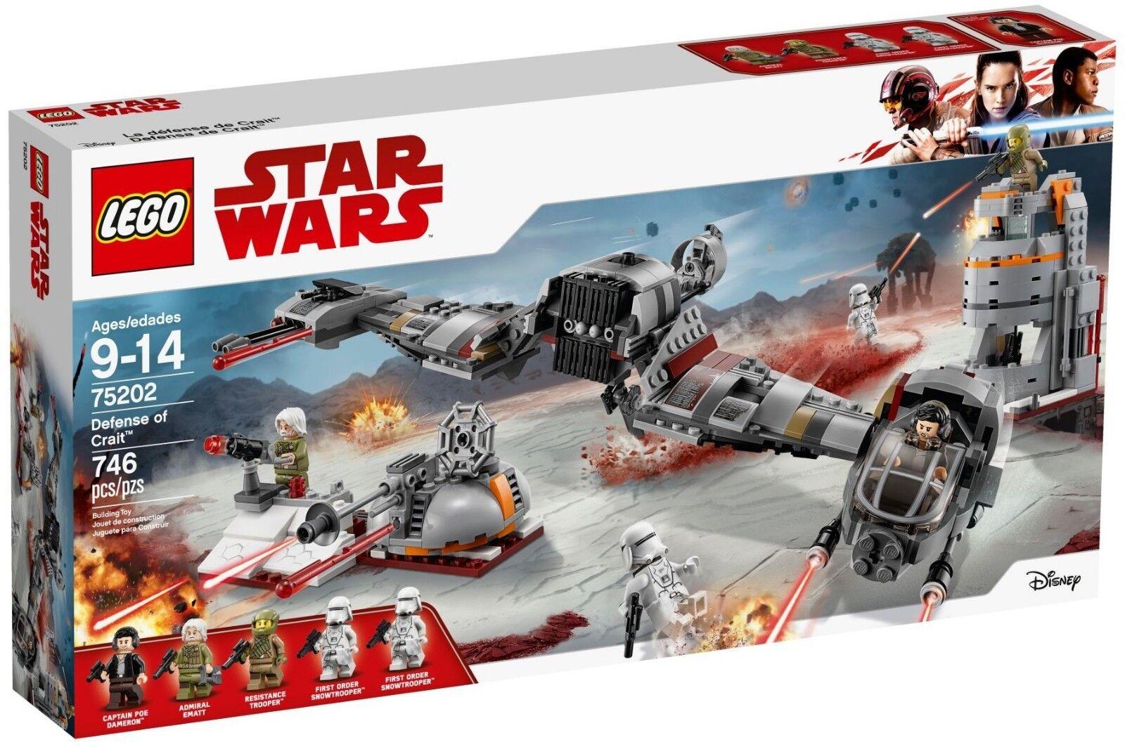 Lego Star Wars - 75202 - Défense de Crait - NEUF et Scellé