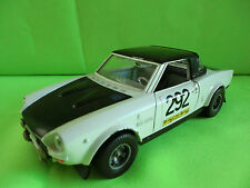BURAGO  0137  FIAT 124 ABARTH RALLY -  1:24 -   RARE SELTEN IN GOOD CONDITION