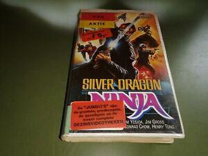 vhs - Silver Dragon Ninja (   Harry Caine)