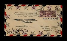 4/15/1930 Nashville TN Glider AUTOGRAPHED Early Bird Pilot James Meinrad Wulpi