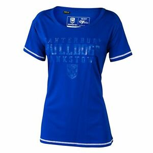 NRL-Canterbury-Bulldogs-Supporter-T-Shirt-LADIES-Sizes-8-20-SALE-PRICE