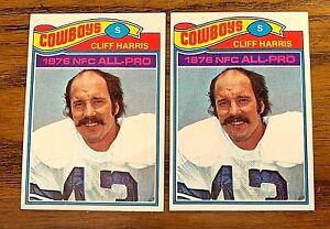 1977 Topps #490 Cliff Harris - Cowboys  (2)