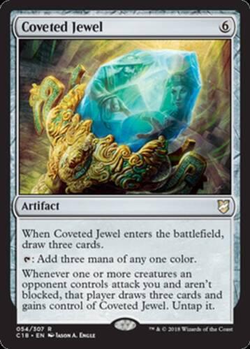 Coveted Jewel MTG Magic - NM//M R Commander 2018