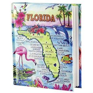 Florida-Map-Photo-Album-w-Color-100-Photos-4x6