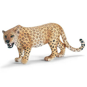 Schleich-14360-Spotted-Leopard-Toy-Wild-Animal-Model-Figurine-NIP