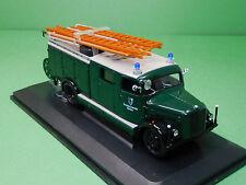 Magirus-Deutz S 3000 SLG 1941 FFW Mainleus grün 43014 Yat Ming 1:43 Modellauto