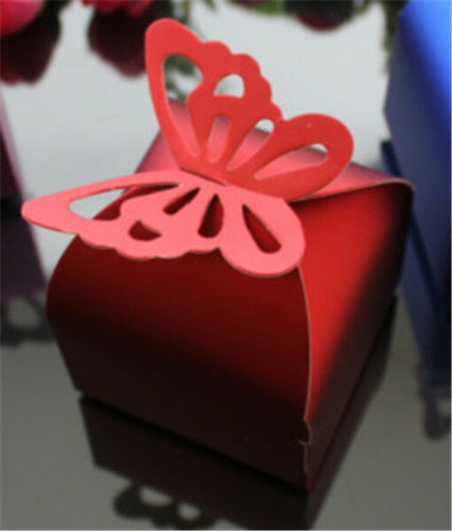 heart  Wedding Party Baby Shower Favor Gift Candy Bonbonniere Boxes  #XTH03