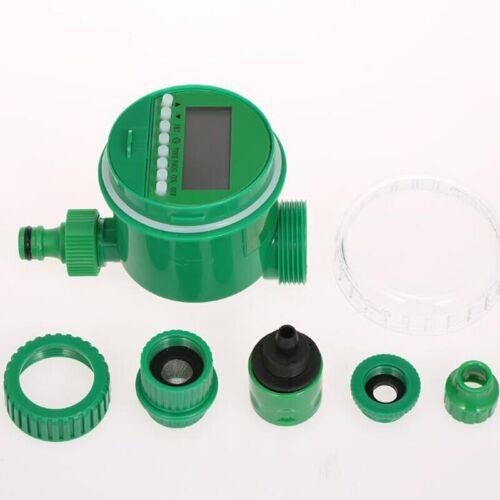 DIY Micro Drip Irrigation Auto Timer Self Plant Watering Garden Hose System kit