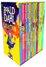 Roald Dahl Children's 15 Book Collection Box Set BN