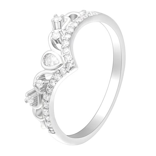 Tori Sterling Silver Anniversary Wedding Band Ring Ginger Lyne Collection