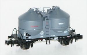 Minitrix-Trix-N-11130-2-Silowagen-Kds-56-der-DB-AG-NEU-OVP