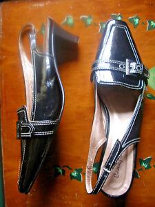 Rebajas Preciosos Sandalias Piel Mujer Nº Tacon Charol 41 Zapato vw8nN0Om