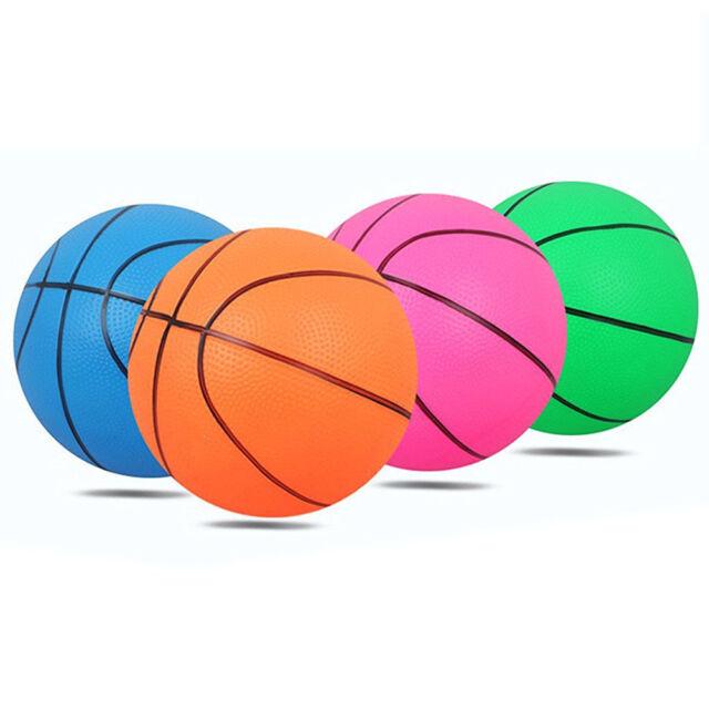 Kids Mini Bouncy Basketball Indoor/Outdoor Kids Toy Gift Portable Random Color