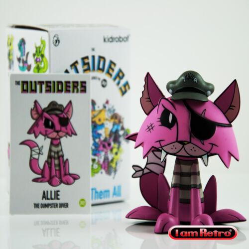 Allie-Les Outsiders Vinyl Mini Série Kidrobot X Joe LEDBETTER BRAND NEW