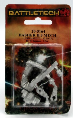 Battletech 20-5164 Dasher II 3 Mech TRO3145 NTNU Medium Close Combat Omnimech