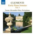 Frühe Klaviersonaten Vol.3 von Susan Alexander-Max (2010)