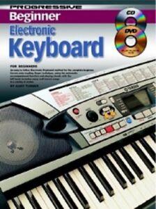 PROGRESSIVE-BEGINNER-ELECTRONIC-KEYBOARD-BOOK-CD-amp-DVD