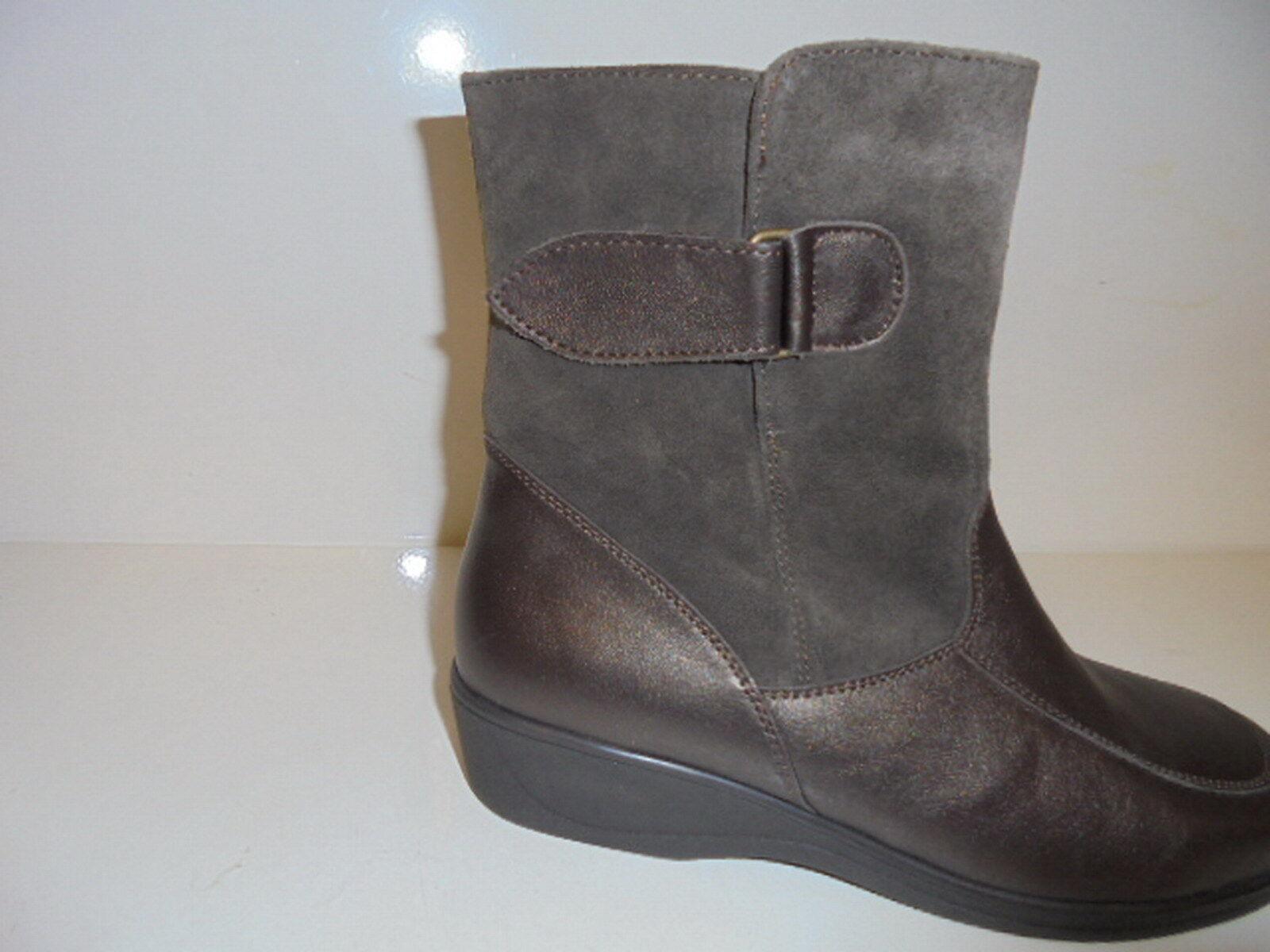 33068 Meisi Damenschuhe Stiefelette Stiefel Leder Leder Leder braun perlato UK 5 Gr.38  | Hohe Qualität Und Geringen Overhead  102e0e