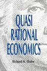 Quasirational Economics by Richard H. Thaler (Paperback, 1994)