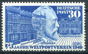 Bund-Nr-116-sauber-postfrisch-Weltpostverein-BRD-1949-UPU-Michel-70-00-Euro-MNH