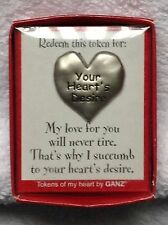 "ROMANTIC Party of 2, Love Token, Redeem this for ""Your Heart's Desire"""