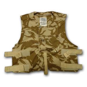 c9273bd0c9ca8 GENUINE BRITISH ARMY USED COMBAT BODY ARMOUR VEST COVER DESERT DPM ...