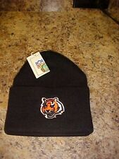 5f73a89ed Cincinnati Bengals Reebok NFL OSFA Cuffed Knit Hat Beanie NWT Free Shipping  blk