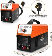 Plasma Cutter 50amp Non Touch Cut50dp 12 Clean Cut 110220v Igbt Dc Inverter