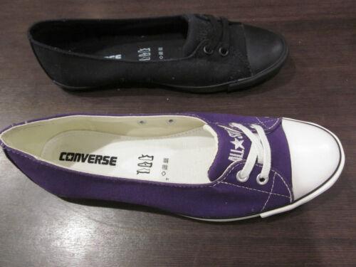 Ballerine All Noir Toile Star Chaussure Converse violet wOdRw7