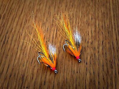 Salmon Flies 3x Aurora Cascades Size 12 Hooks