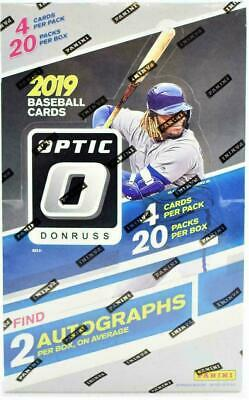 2019 Panini Donruss Baseball Factory Sealed Hobby Box