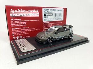 1-64-Ignition-Honda-Civic-EG6-PANDEM-Gun-Grey-Metallic-JDM-IG1413-Limited-Ed-NEW