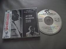 ART TATUM BEN WEBSTER CD ALBUM MADE IN JAPAN WITH OBI POLYDOR J33J 20034 MONO