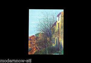 """Jean CARZOU Lithograph LIMITED Edition ~ """"Bonnieux"""" *SIGNED* +Custom FRAMING"""