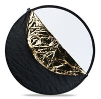 """5 in 1 Collapsible Multi Photo Disc Reflector 80CM 42"""""""
