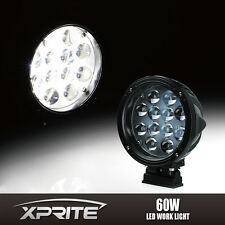 """7"""" Inch 60W 4D Round Fish Eye Offroad Driving Work LED Spot Light for Truck Jeep"""