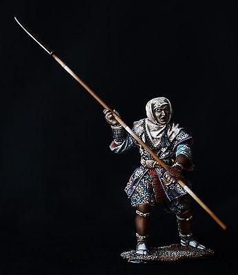 ELITE TIN SOLDIER: Japanese Warrior Monk 54 mm,metal sculpture.