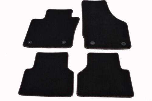 2011 coche esteras original calidad terciopelo Nuevo piso alfombras Audi Q3 8U Quatro BJ