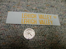 Herald King  decals HO C-850 Lehigh Valley red caboose 1975 white lett    M49