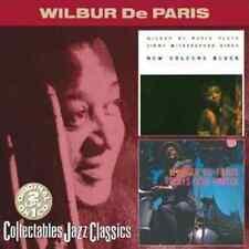 """WILBUR De PARIS """"New Orleans Blues/Plays Cole Porter"""" (CD 2000) 20-Tracks VG OOP"""