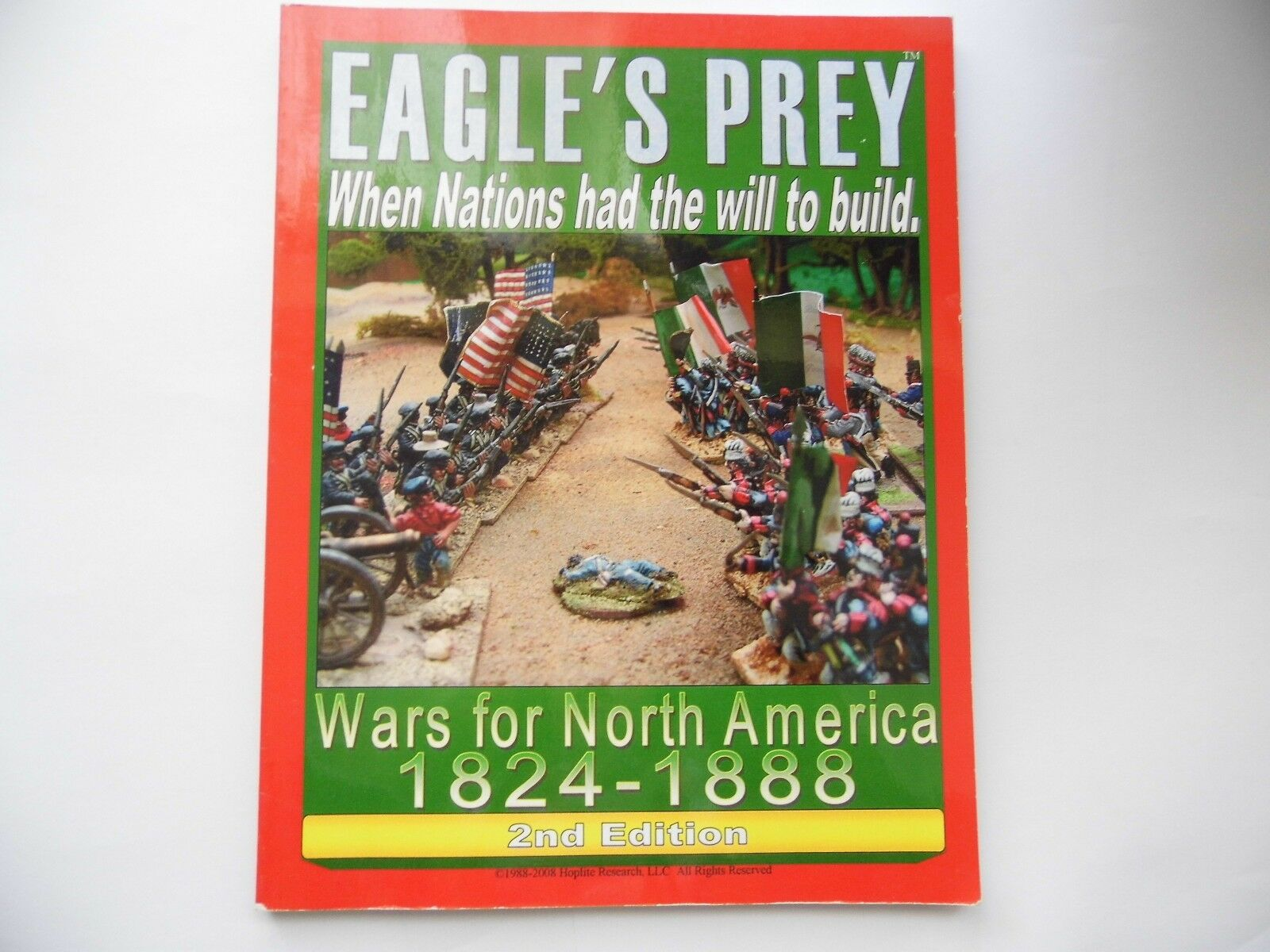 EAGLE'S PREY 1824 - 1888 2ND EDITION     - WARGAMES RULES - NEW ea7434