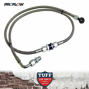 BA-BF-Ford-Falcon-XR6-Turbo-Proflow-Braided-Oil-Feed-Line-Kit-With-Filter-FPV-F6