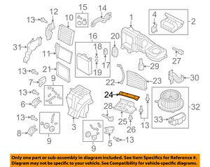 AUDI-OEM-06-13-A3-2-0L-L4-Evaporator-Heater-Filter-Element-Retainer-1K0819422B