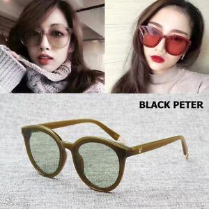 Details about New Fashion Trend Brand Design Tint Ocean Lens BLACK PETER Sunglasses  Women Sale e2ae301415