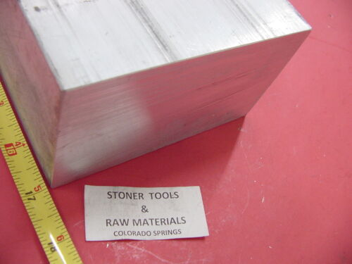 "3/"" X 6/"" ALUMINUM 6061 FLAT BAR 17/"" LONG SOLID T6511 3.00/"" Plate Mill Stock"